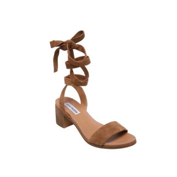 Adrianne Ankle Strap Heeled Sandal